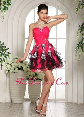 Beautiful A-line Sweetheart Beading Cocktail Dresses