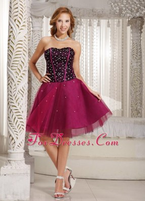 A-line Beading Brand New Prom Cocktail Dress Tulle