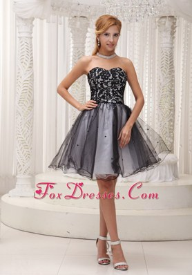 Lace Organza Sequins Prom Cocktail Dress For 2013