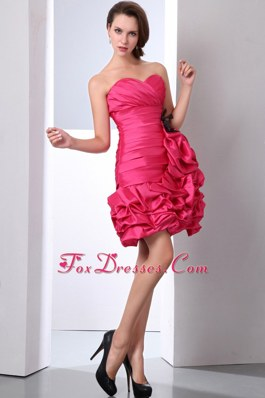 Ruching Coral Red Column Sweetheart Party Dress for Homecoming