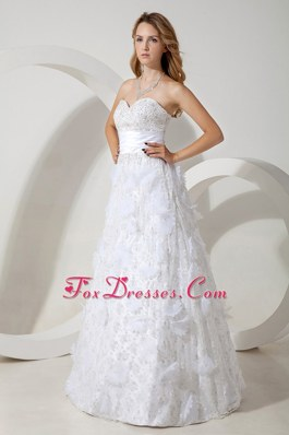 2013 New Special Fabric Beading Ruched Wedding Dresses