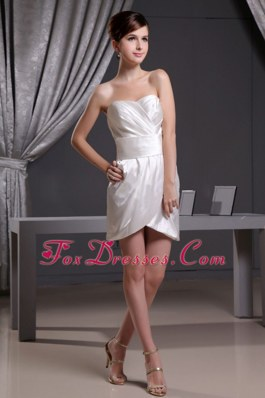 Mini-length Column Sweetheart Sexy Prom Dress