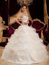 Ivory Ball Gown Quinceanera Dress Sweetheart 2013 Embroidery