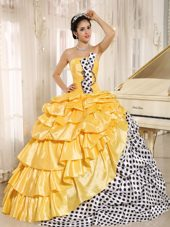 Strapless 2013 Quinceanera Dress Multi-color Pick-ups