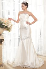 Trumpet Beading 2013 Exclusive Wedding Dress Court Taffeta