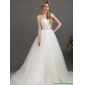 2015 Popular Sweetheart Wedding Dress with Beading and Ruching