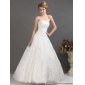 2015 Wonderful Strapless Wedding Dress with Floor-length
