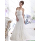 2015 Popular Sweetheart Paillette Wedding Dress with Floor-length