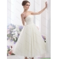 New Arrival White Strapless Wedding Dresses with Ruching