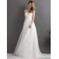 2015 New Arrival Strapless Wedding Dress with Beading and Appliques