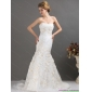 2015 New Arrival Sweetheart Wedding Dress with Beading and Appliques