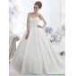 2015 New Arrival Sweetheart Wedding Dress with Lace and Sashes