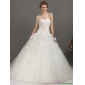 2015 Affordable Sweetheart Wedding Dress with Appliques