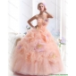 Affordable Multi Color Strapless Wedding Dresses with Hand Made Flower