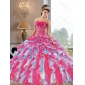 2015 Exclusive Ball Gown Quinceanera Dresses with Appliques and Ruffles