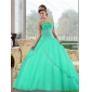 2015 Fashionable Sweetheart Ball Gown Quinceanera Dresses with Appliques
