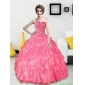 Discount 2015 Beading and Ruffles Sweetheart Quinceanera Dresses
