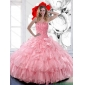 Pretty Sweetheart 2015 Quinceanera Dresses with Ruffled Layers