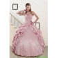 2015 Couture Sweet Spaghetti Straps Quinceanera Dresses in Pink