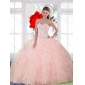 New Style Beading and Ruffles Sweetheart Quinceanera Gown for 2015
