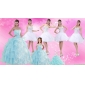 Strapless Ruffles Elegant Quinceanera Dress and Pretty Sweetheart Beading Prom Dress and Ruffles Baby Bule Little Girl Pageant Dress