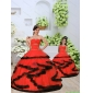 Most Popular Beading and Ruching Princesita With Quinceanera Dress in Red