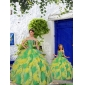 Most Popular Beading and Ruffles Princesita With Quinceanera Dress in Multi-color