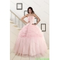Plus Size Strapless Quinceanera Dresses with Beading and Pick Ups