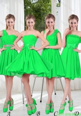 Perfect A Line Short Bridesmaid Dress with Ruching