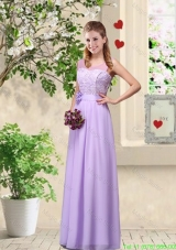 Comfortable Hand Made Flowers Damas Dresses with Lace