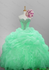 2015 Romantic Sweetheart Camo Quinceanera Dresses with Beading and Ruffled Layers
