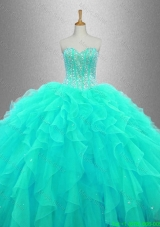 Ball Gown Elegant Quinceanera Dresses with Beading and Ruffles