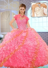 Pretty Sweetheart Beading Quinceanera Dresses in Multi Color