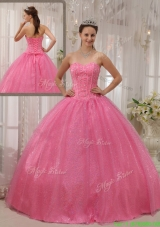 2016 Classical Ball Gown Sweetheart Beading Quinceanera Dresses