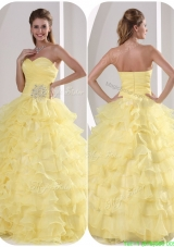 Exclusive Ball Gown Discount Quinceaners Dresses with Appliques