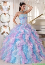New Style Ball Gown Sweetheart Floor Length New Style Quinceanera Dresses