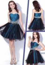 Lovely Sweetheart Beading Short Prom Dresses for Homecoming