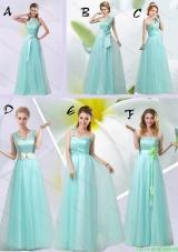 2015 Summer New Style Prom Dress Chiffon Hand Made Flowers with Empire
