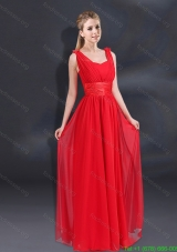 Plus Size Empire Straps 2015 Beautiful Prom Dresses