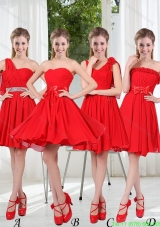 Group Buying Bridesmaid Dress Chiffon Ruching with A Line