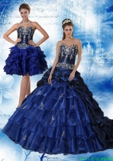 Beautiful Sweetheart Quinceanera Dresses with Ruffles and Embroidery