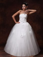 Custom Made Bridal Dress Strapless Beaded For 2013