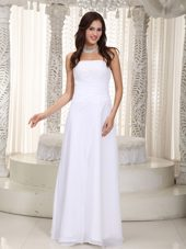 Beautiful Wedding Dress Empire Strapless Chiffon Beading