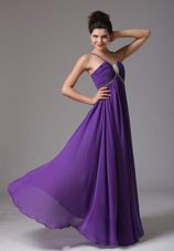 2013 Empire Spagetti Straps Prom Dress Ruch and Beading
