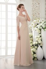 2013 Mother Of The Bride Dress With Champagne Column V-neck