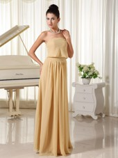 Champagne Cheap Empire For Simple Prom Dress Chiffon
