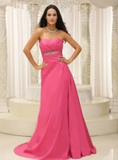 Sweetheart Cheap Ruching Bodice Appliques For Prom Gown