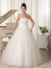 Ball Gown Sweetheart Floor-length Wedding Dress For Church