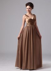 Brown Mother Of The Evening Pageant Dress
