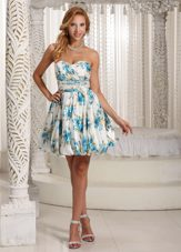 Luxurious Colorful Sweetheart 2013 Celebrity Dresses